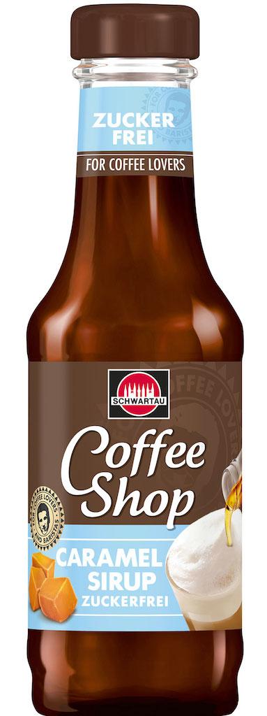 Schwartau Coffeeshop Caramel-Sirup Zuckerfrei