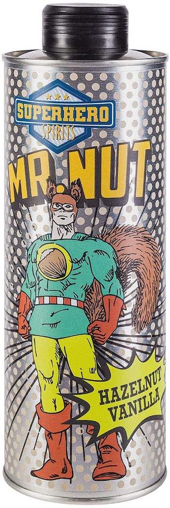 Superhero Mr. Nut Hazelnut Vanilla Drink
