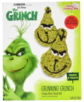 The Grinch Grinning Grinch Crispy Rice Treat Kit Backmischung 251G