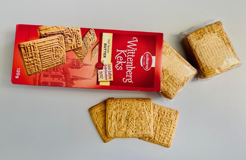 Wilkana Wittenberg-Keks 500 Jahre Reformation 2017 120G