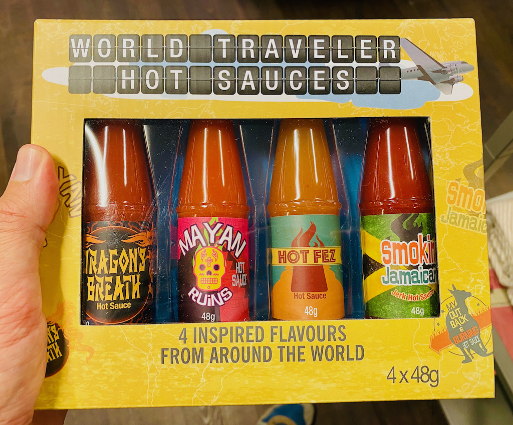World Traveler Hot Sauce 4x48G