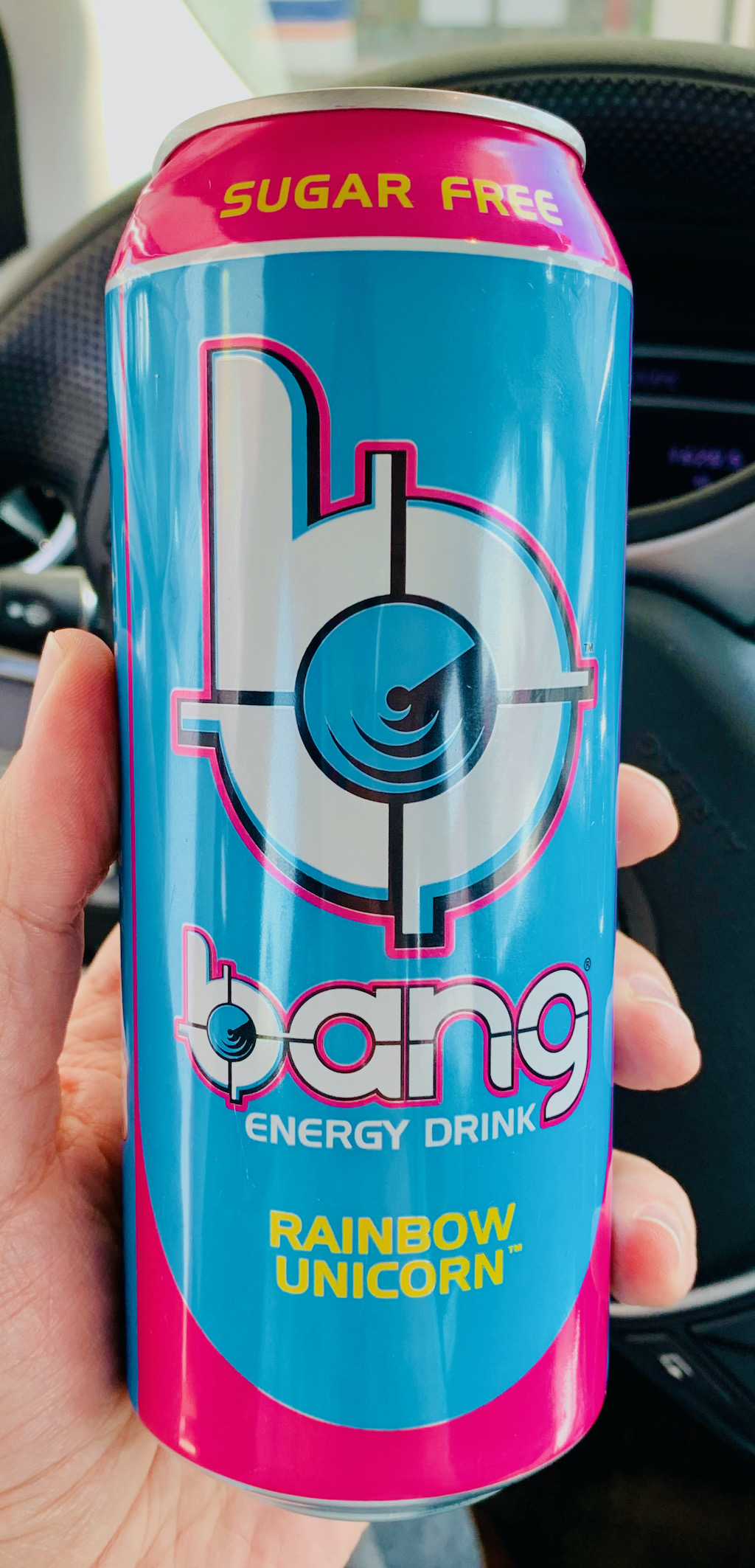 bang Energy Drink sugarfree Rainbow Unicorn Dose