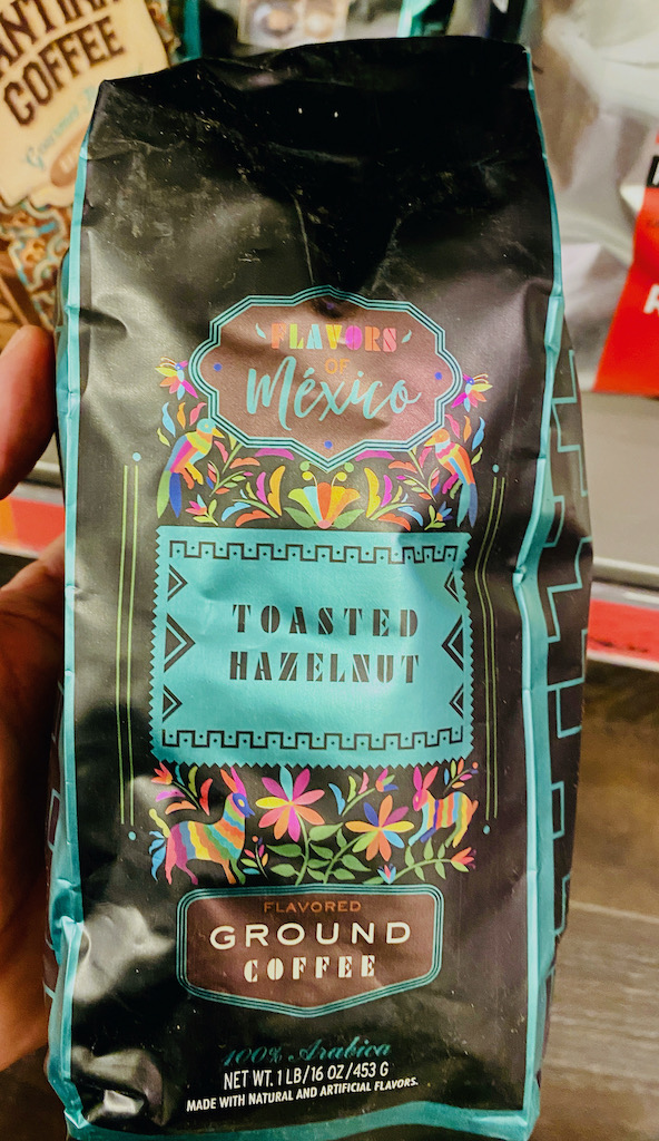 Flavors of Mexico Ground Coffee Toasted Hazelnut 453G