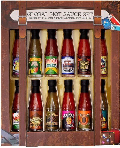 Global Hot Sauce Set Inspired Flavours from around the World