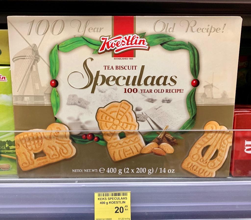 Koestlin Tea Biscuit Speculaas Spekulatius 400G