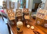 Popcorn Bakery Falkensee Tisch mit Angeboten