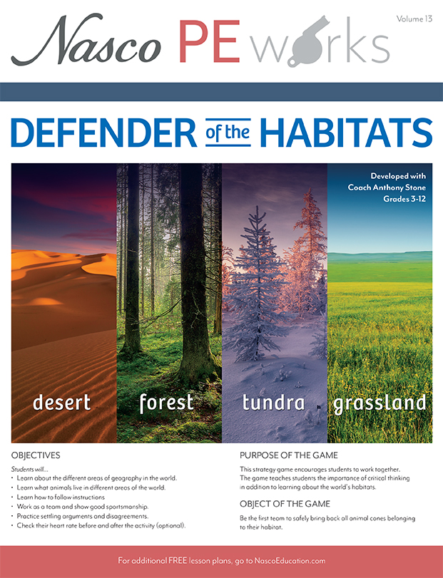 Defender of Habitats Lesson