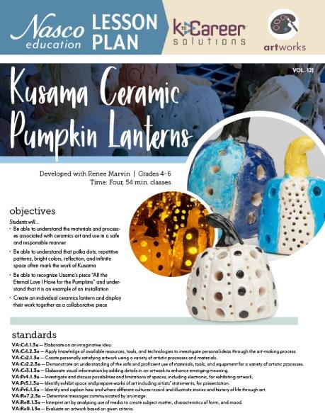 Download the Kusama Ceramic Pumpkin Lanterns now