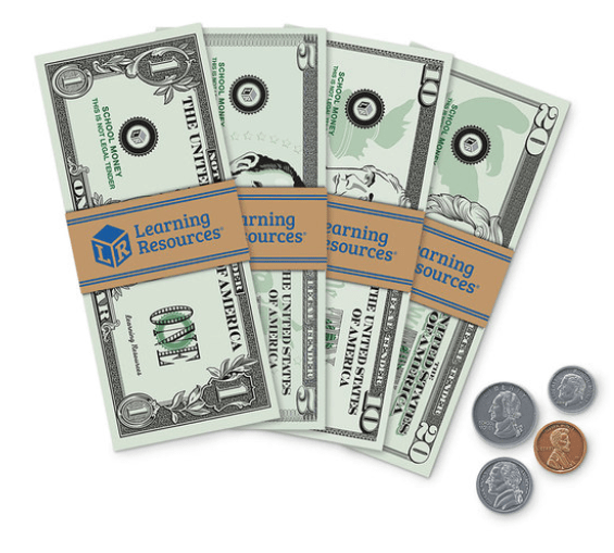 Pretend & Play® Play Money - Set of 150
