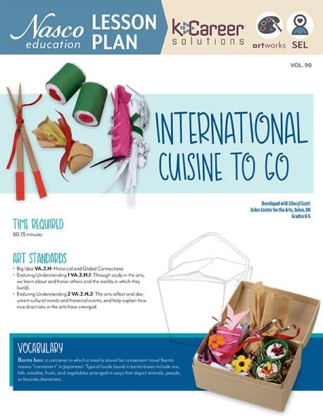 International Cuisine To Go - Lesson Plan Volume 90