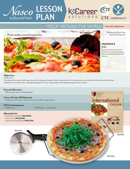 Pizza Around the World - Lesson Plan Volume 62
