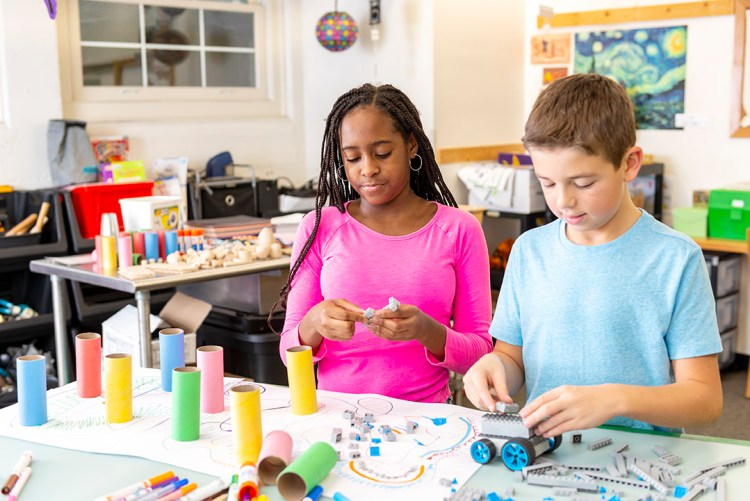 Hands-on learning through making helps kids achieve a wider range of 21st century skills