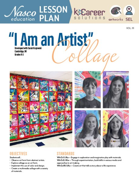 """Download the """"I Am an Artist"""" Lesson Plan"""