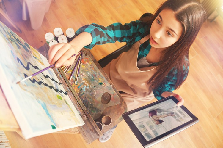 To effectively marry subjects like art to SEL educators need to help students understand self worth.