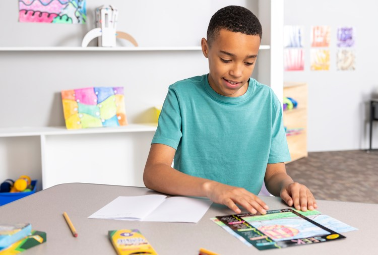 Help students re-engage with learning through art projects