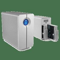Mac External storage with teh LaCie 2big quadra USB 3 and Firewire 800 raid storage