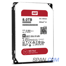 WD80EFZX 8TB WD RED NAS Drives