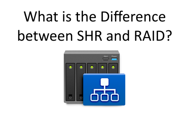What is SHR? And what is the difference between Synology