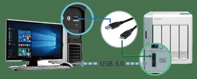 The QNAP TS-251A 2-Bay USB 3.0 DAS and NAS Walkthrough and Talkthrough with SPAN 8
