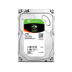 The Seagate 2tb Firecuda SSHD Hard Drive for PC Gamers and Creative use