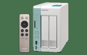 The QNAP TS-251A 2-Bay USB 3.0 DAS and NAS Walkthrough and Talkthrough with SPAN 2