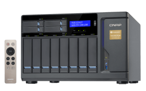 The QNAP TVS-1282T-i7-32G 12-Bay (8+4 Bay) Thunderbolt 2 NAS Unboxing and Walkthrough