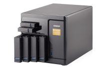 The QNAP TVS-682T-i3-8G Thunderbolt 2 NAS with 10GBe, 4K HDMI, SSD Cache and more Unboxing Video with SPAN 5