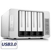 TerraMaster D4-310 USB3.0 Type C NAS DAS RAID Enclosure for HDD and SSD