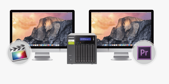 """The QNAP TVS-882ST2 2.5"""" SSD and HDD Thunderbolt 2 NAS with USB 3.1, TB2, 10GBe and more 17ng - Copy"""