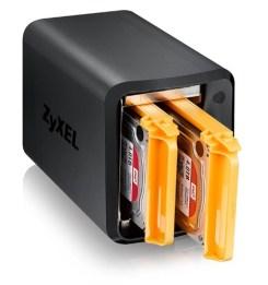 Zyxel NAS520 2 Bay Personal Cloud NAS Storage (1.2 GHz Dual-Core CPU) 5