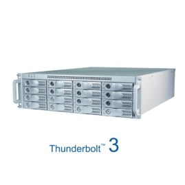 The Netstor NA333TB3 3U 16 bay Thunderbolt3 Storage and PCIe Expansion for Mac and Windows 2