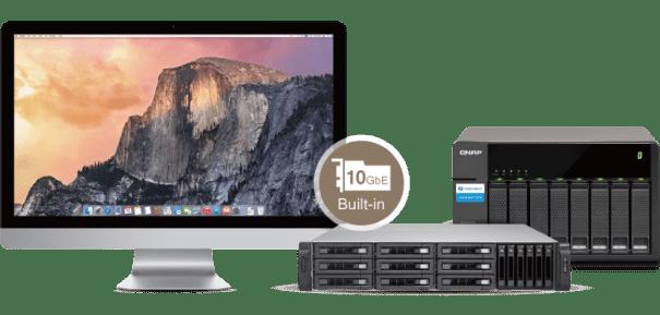 The QNAP TVS-1582TU finally revealled The Thunderbolt 3 High Application (Mac + JBOD)