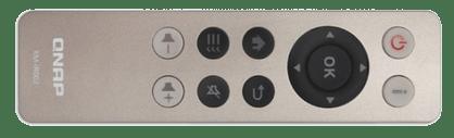 old qnap remote control for NAS via HDMI IR