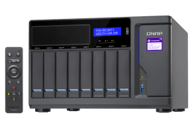 The Optical Media Optimised QNAP TVS-882BRT3 Thunderbolt 3 8-Bay NAS 5