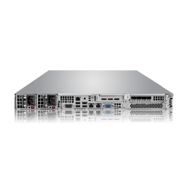 Thecus LightningPRO SC180 Flash NAS Rackmount_back