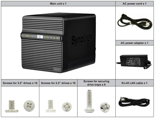 Setting up your Synology DiskStation DS418J in just 15 minutes - A Hardware Installation Guide