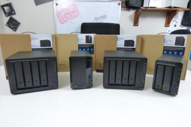 DS718+ DS918+ DS218+ DS418 Range