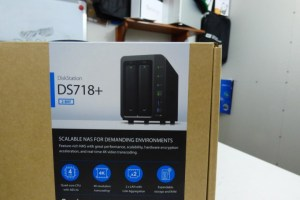 Synology DS718+ NAS Unboxing 2