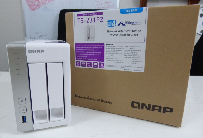 Unboxing the QNAP TS-231P2 Cost Effective NAS for Home and