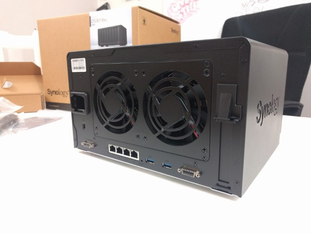 Unboxing the Synology DS3018xs 6-Bay Diskstation NAS Diskstation 5