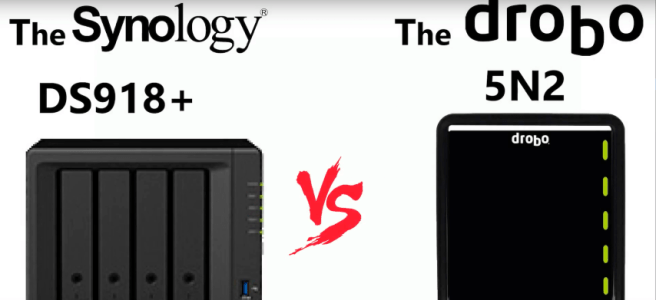 Synology Versus Drobo - DS918+ or 5N2 - Best NAS for Mac Users