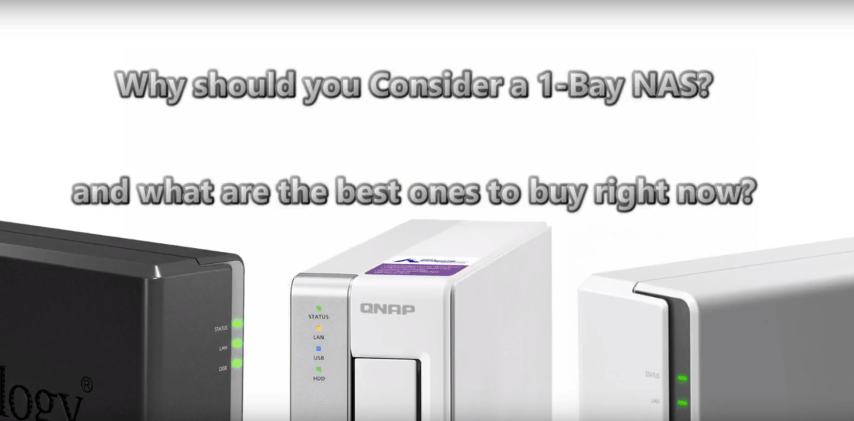 The Best 1-Bay NAS of the Year from Synology and QNAP - NAS