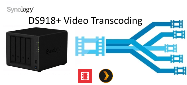 Transcoding 4K Media on the DS918+ NAS Server - NAS Compares
