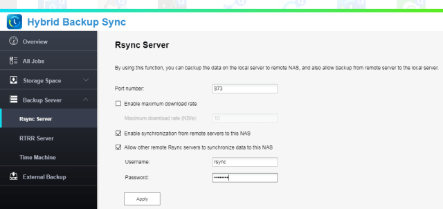 Synchronize between Synology and Qnap - backup/restore/synchronize