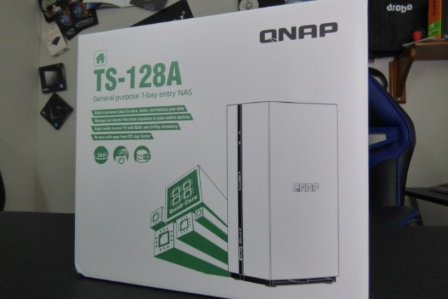 QNAP TS-128A 1-Bay NAS - What is in the Box? - NAS Compares