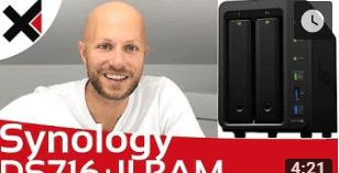 ds718+ ram upgrade video