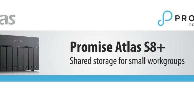 Promise Atlas S8+ Thunderbolt 3 NAS for Mac and Windows