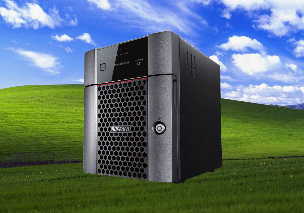 BUFFALO Terastation WS5220DN Windows Storage Server 2016 Desktop 8TB NAS Hard Drives Included