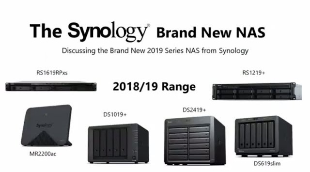 Synology 2019 NAS Range - Everything we know so far - NAS Compares