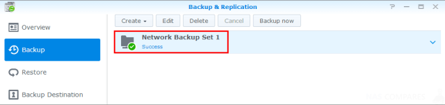 Synology NAS Software Guide – Part 5 – Time Machine, Rsync